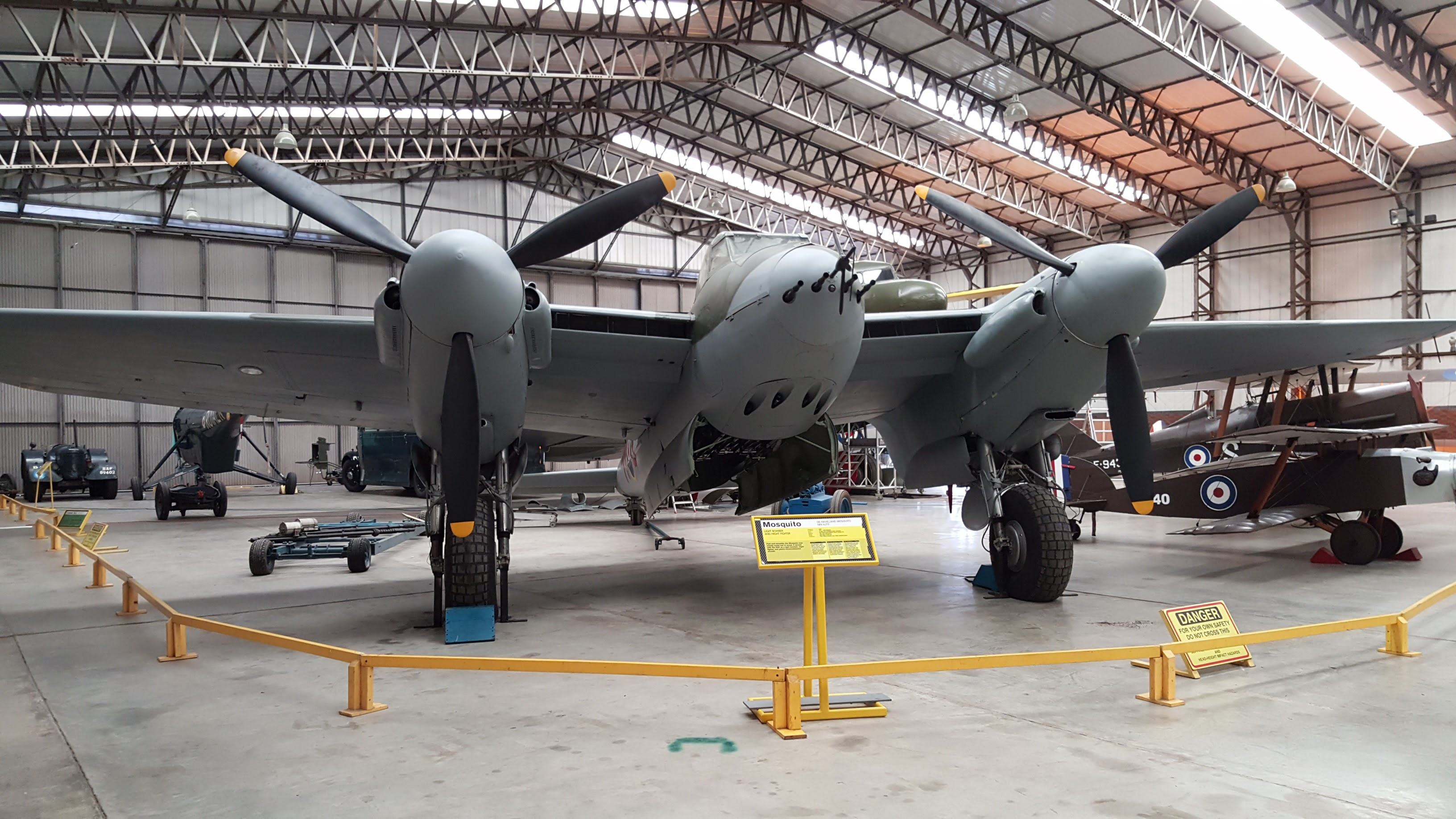 De Havilland Mosquito at Yorkshire Air Museum