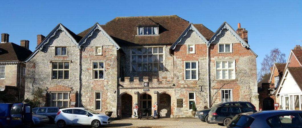 Historic house exterior in Salisbury