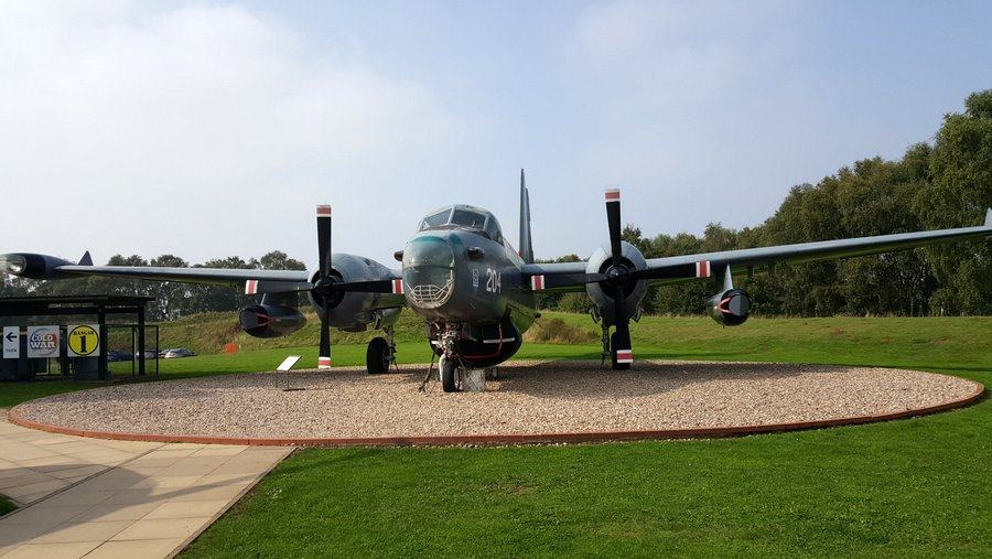 Lockheed SP-2H Neptune at RAF Cosford