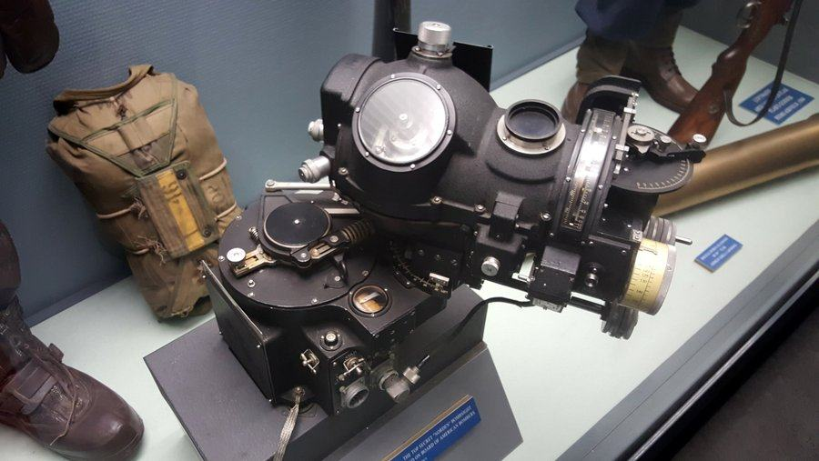 Norden Bombsight exhibit