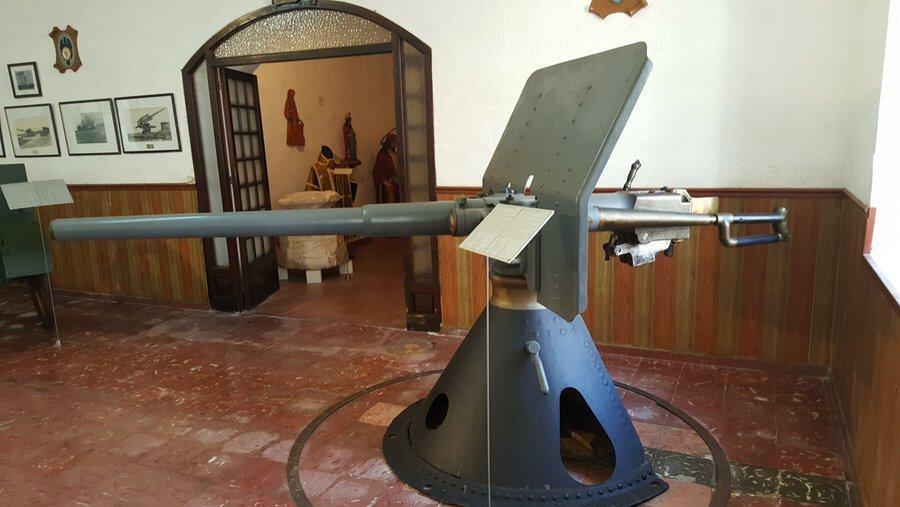 Nordenfelt 57/42 rapid firing naval canon