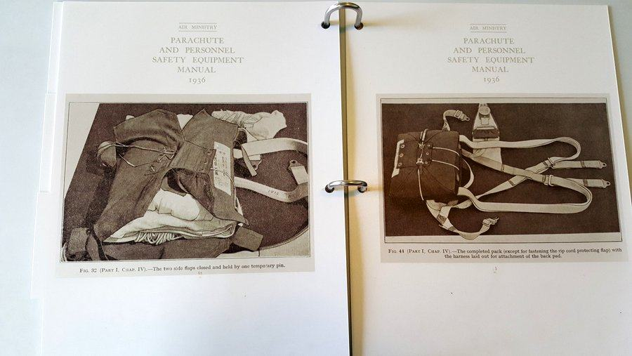 Air Ministry 1939 parachute manual