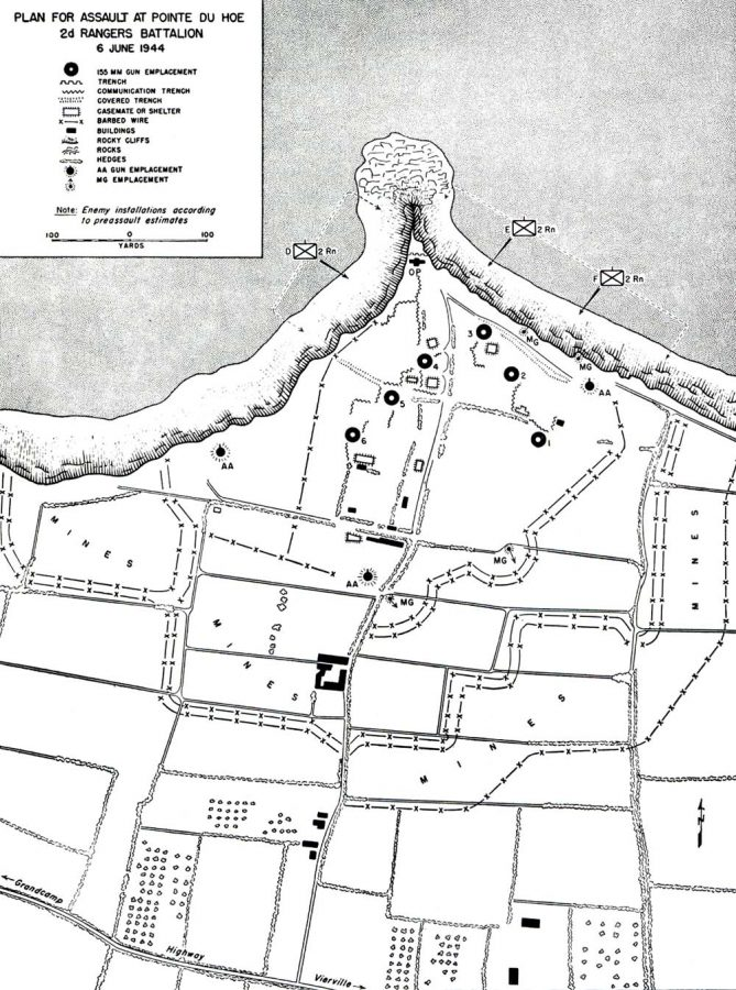 A black & white map of the battery site