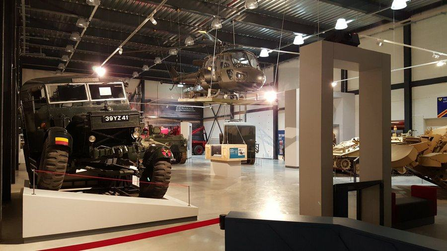 REME Museum main hall