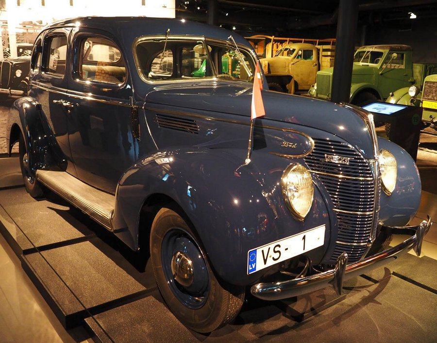 Ford Vairogs Standard in the Riga Motor Museum