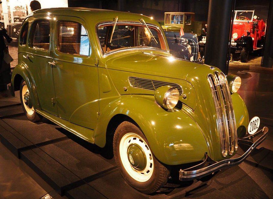 Ford Vairogs at the Riga Motor Museum