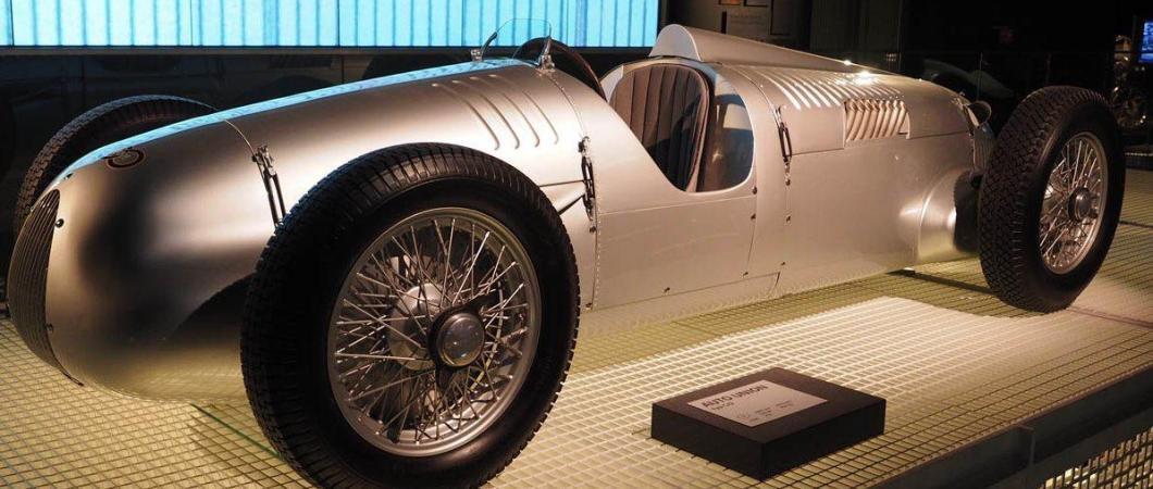 Vintage Auto Union race car