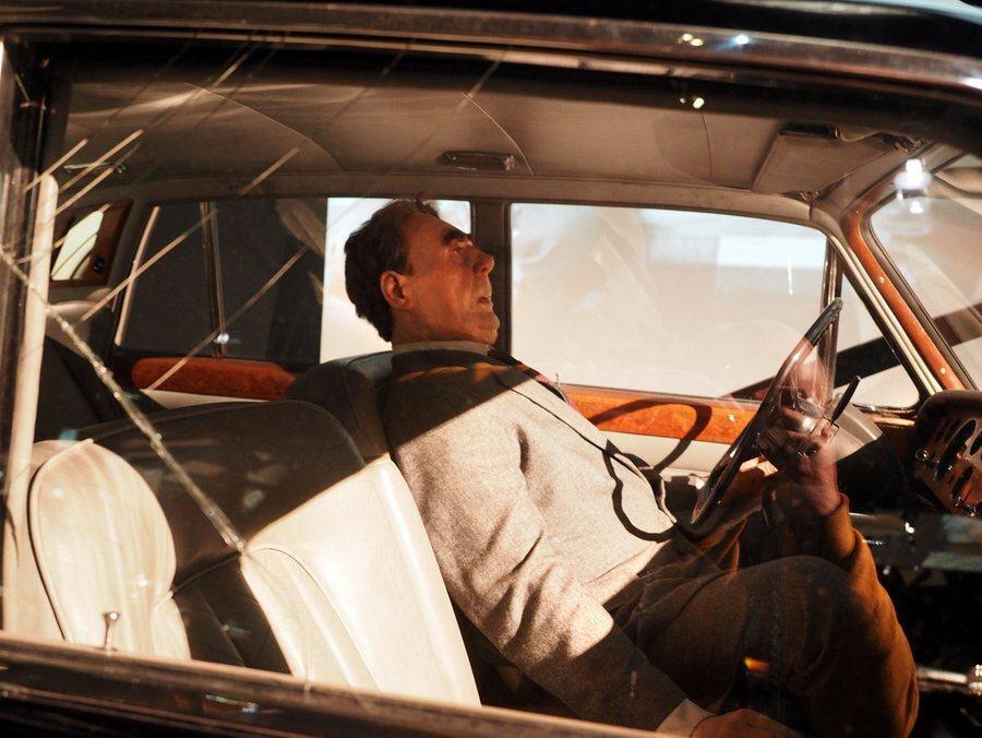 Brezhnev mannequin in car