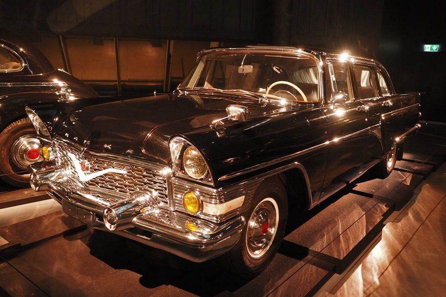 Gaz V8 in the Riga Motor Museum