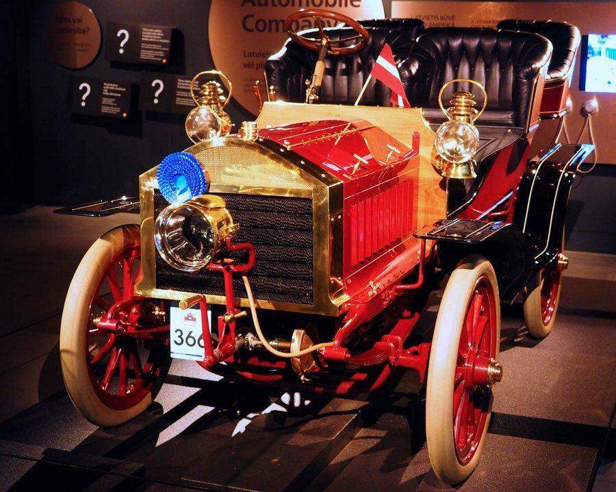 1903 Krastin at Riga Motor Museum
