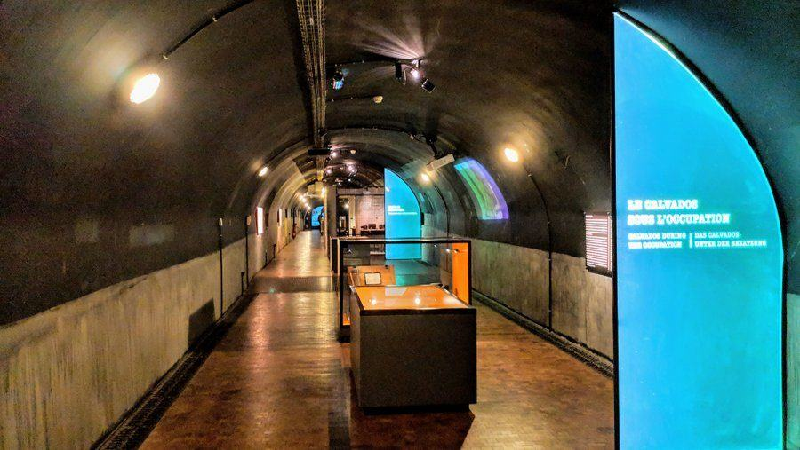 The 70-metre long bunker