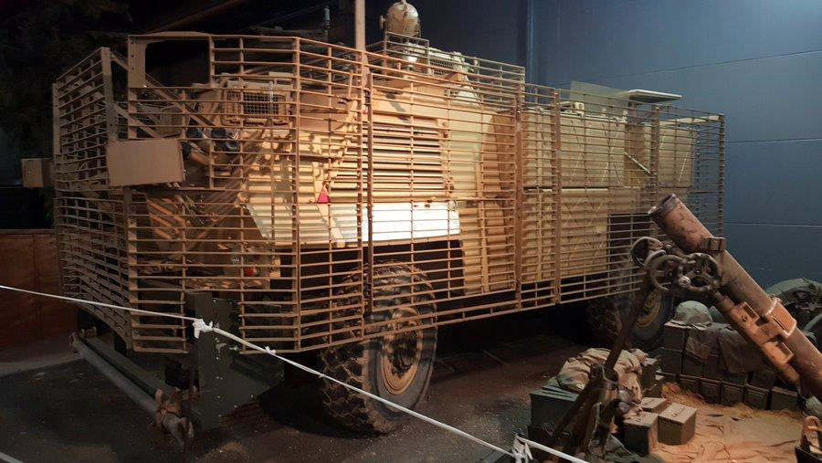 British GKN Saxon Armoured Patrol Vehicle