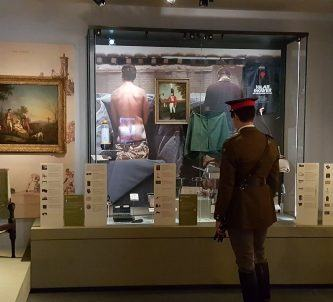 Army Officer at Nat Army Museum