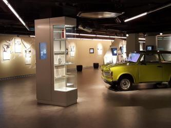 Spy Museum, Berlin, trabant