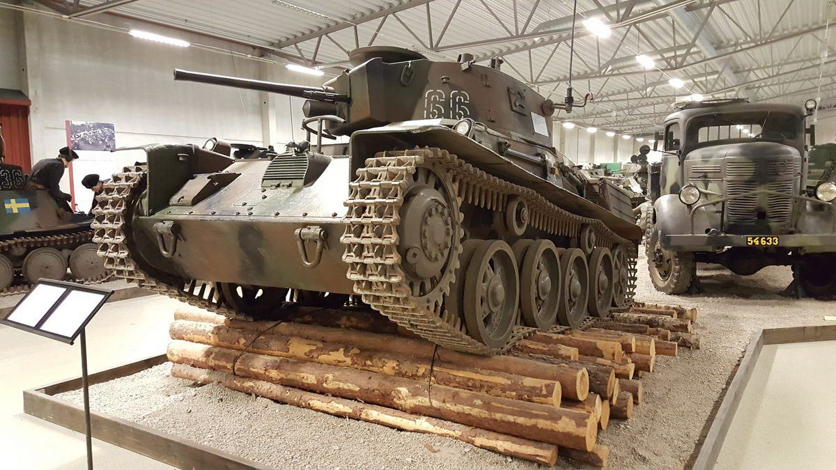 Stridsvagn M38