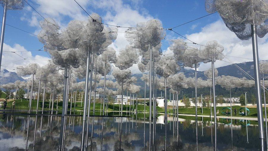 The Crystal Cloud at Swarovski Kristallwelten