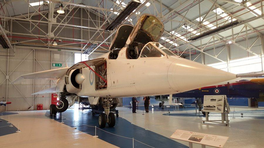 BAC TSR 2 at Cosford