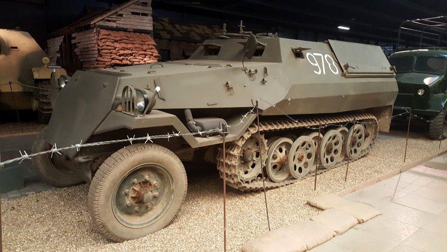 Czech Tatra OT-810 half track