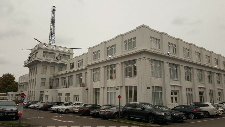 Croydon terminal building