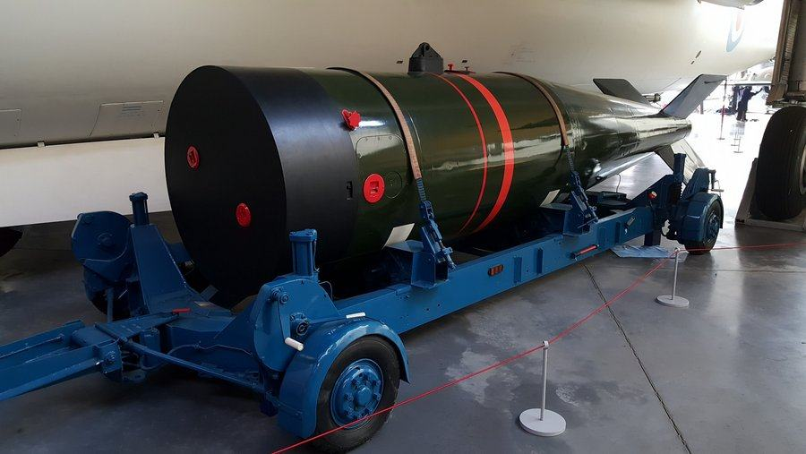 Yellow Sun thermonuclear bomb at Cosford