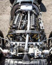 Exposed V16 engine in the BRM P15 chassis