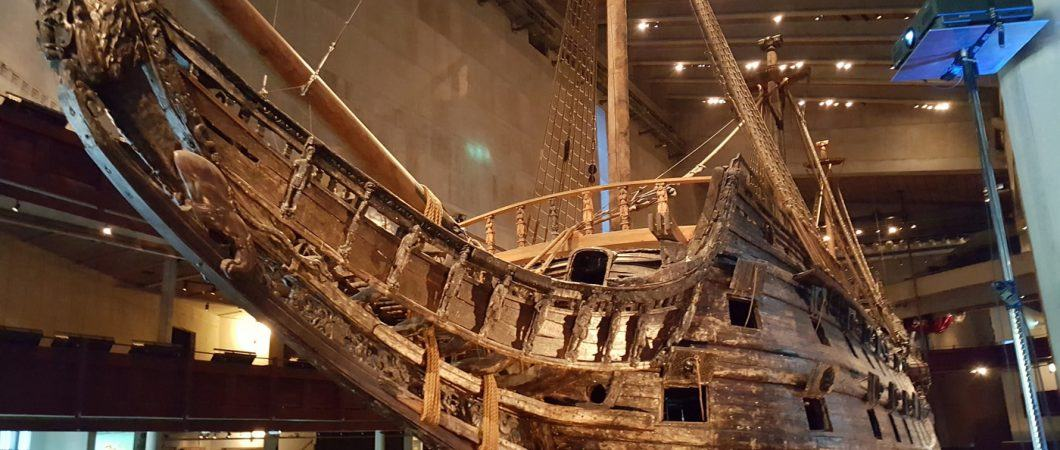 Vasa from the bow looking aft
