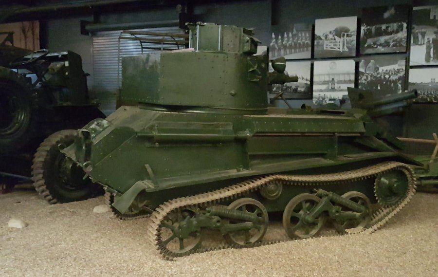 Vickers Mk VI light tank