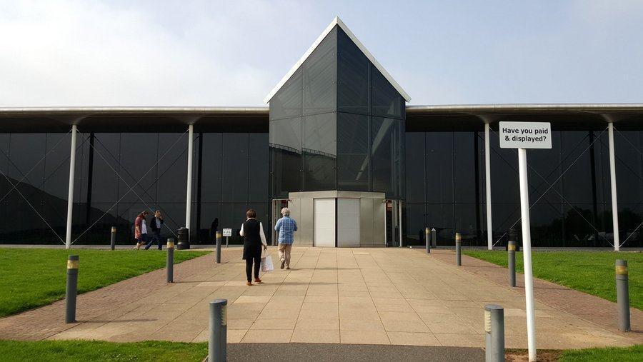 RAF Cosford visitor centre entrance
