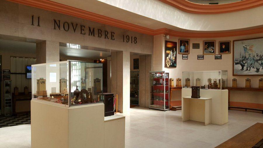 Memorial museum room