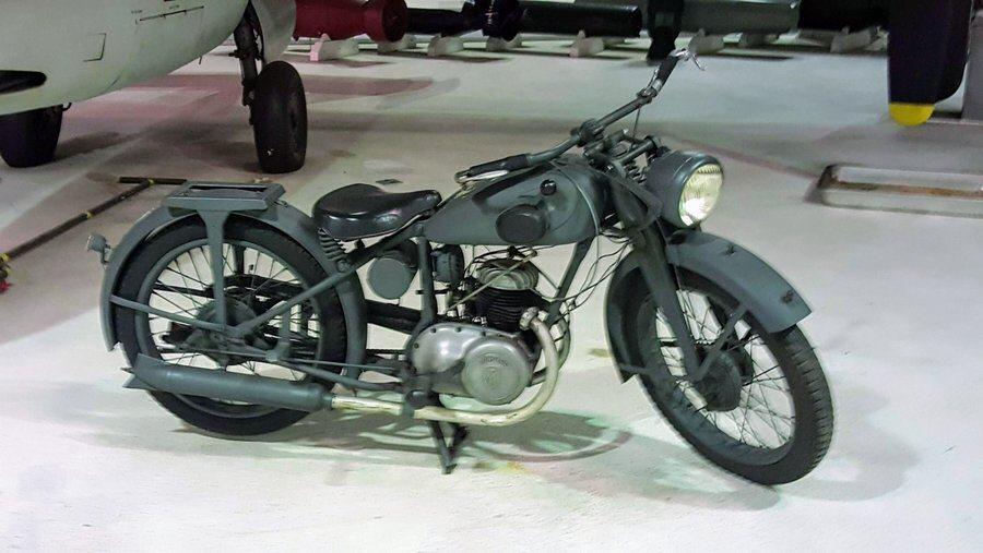 WW2 German motorbike