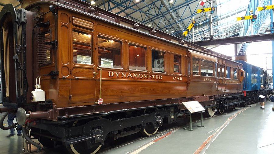 Dynamometer Car at NRM