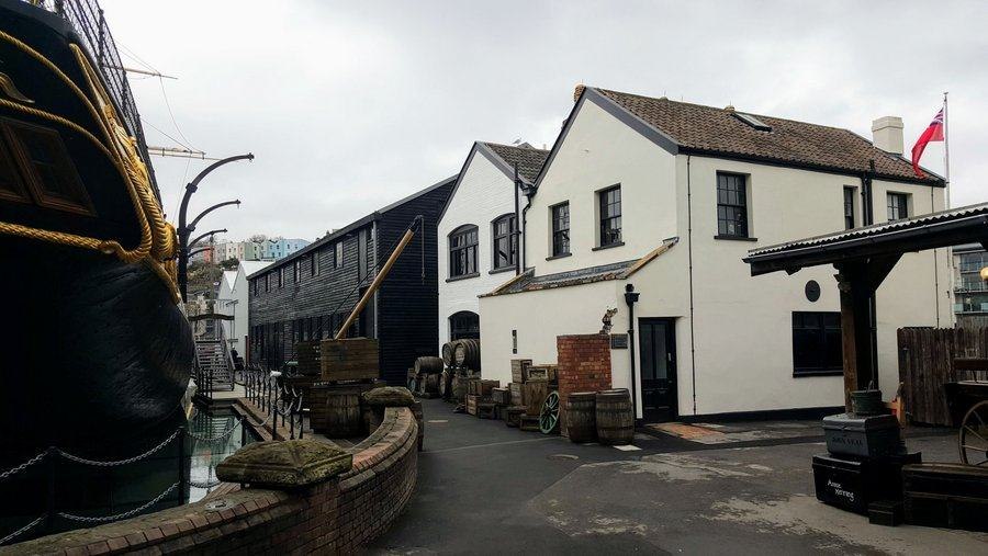 Photo of Being Brunel museum next to SS Great Britain