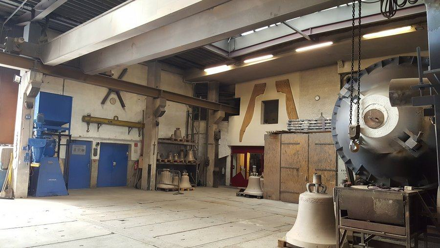 View of the foundry