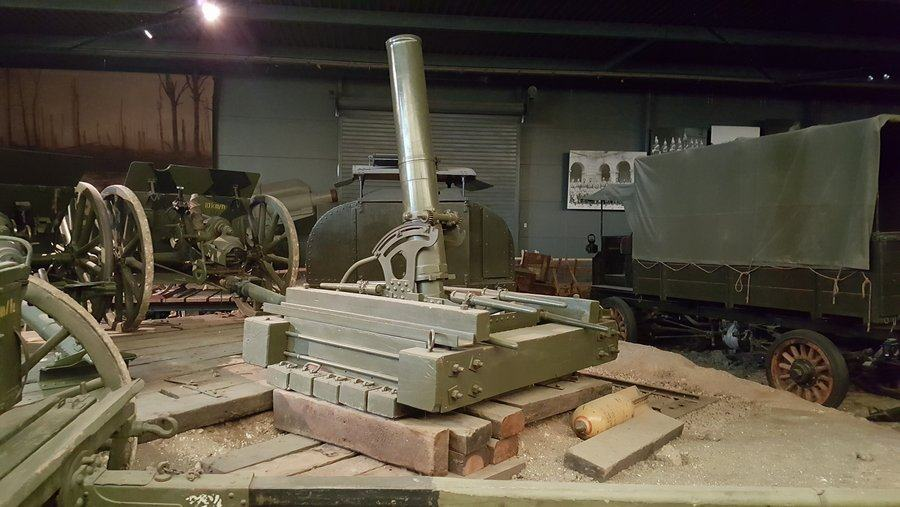 9.45 inch heavy trench mortar