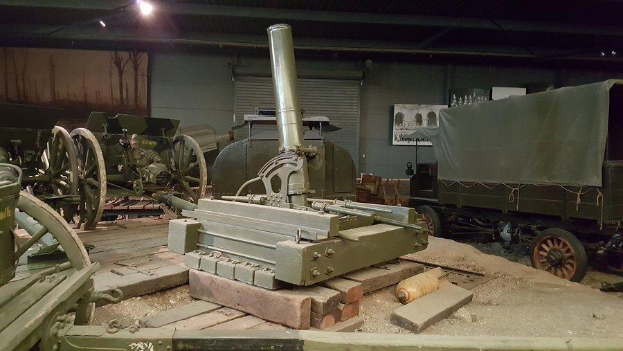 9.45 inch heavy trench mortar
