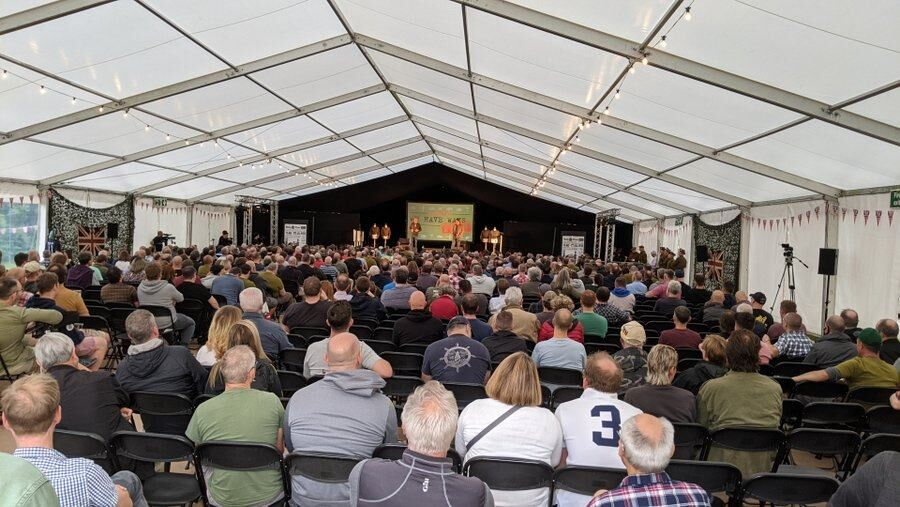 We Have Ways Fest audience in a huge tent
