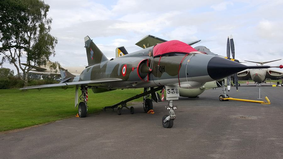 Dassault Mirage III at Yorkshire Air Museum