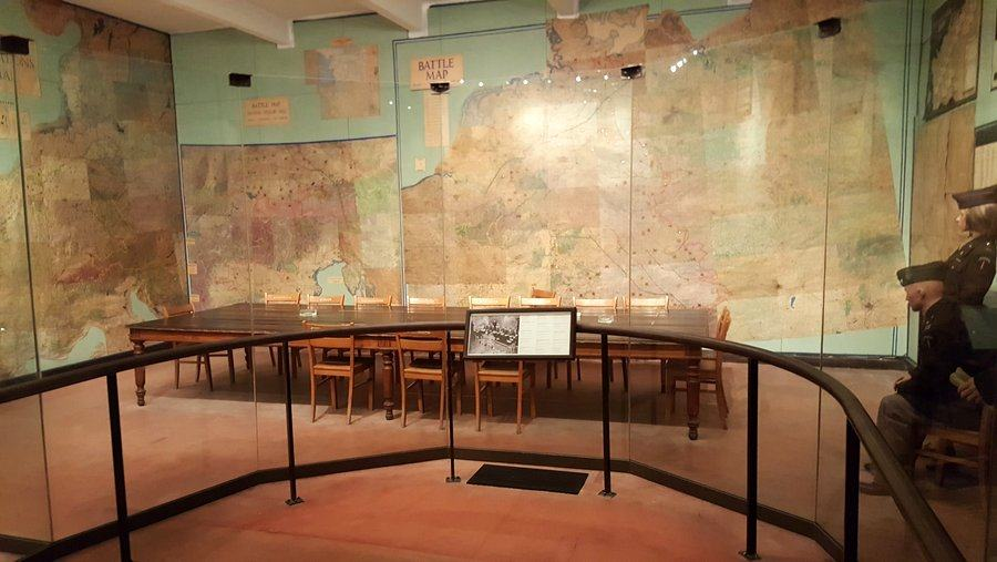 The War Room at the Musée de la Reddition